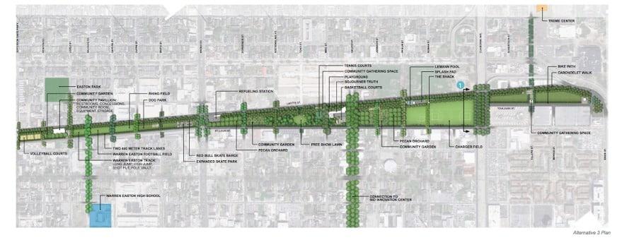 Lafitte Greenway Master Plan