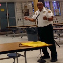 New interim police chief promises accessibility, more officers in visit to Mid-City Neighborhood Organization