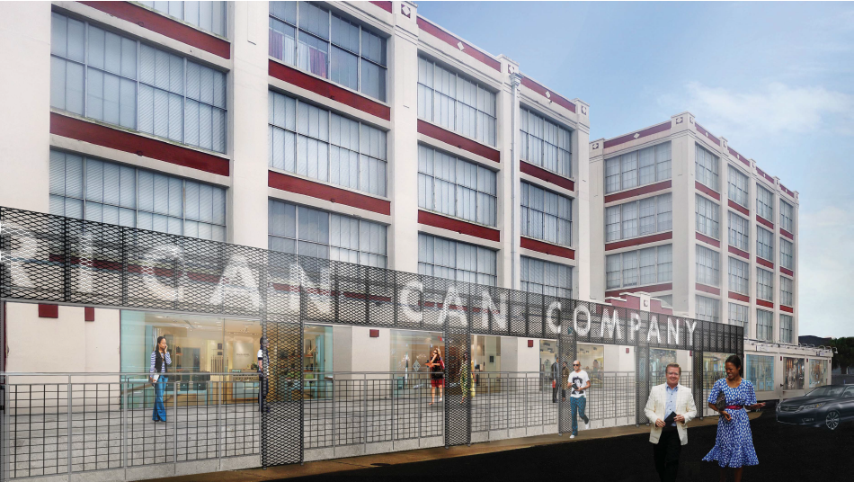 American Can building architects want to highlight retail space, remove some parking