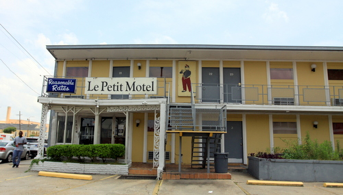 The Le Petit Motel Adjacent To The Patio Motel Was Evacuated During The  Fire. (