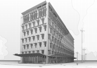 New boutique hotel proposed for Canal Street