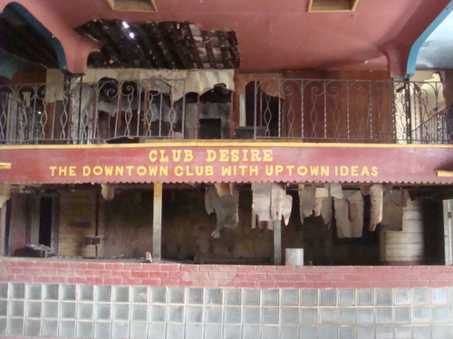 Another interior photo from Club Desire. (2008 photo by Preservation Resource Center)