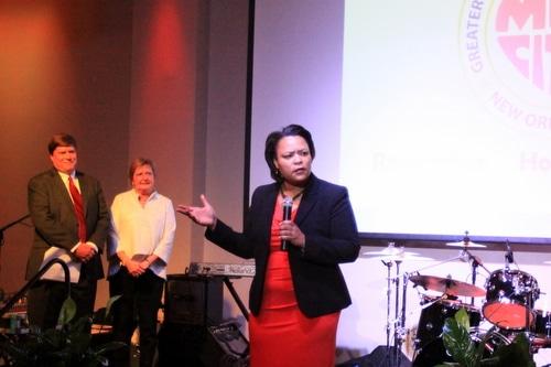 City Councilwoman LaToya Cantrell. (Robert Morris, MidCityMessenger.com)
