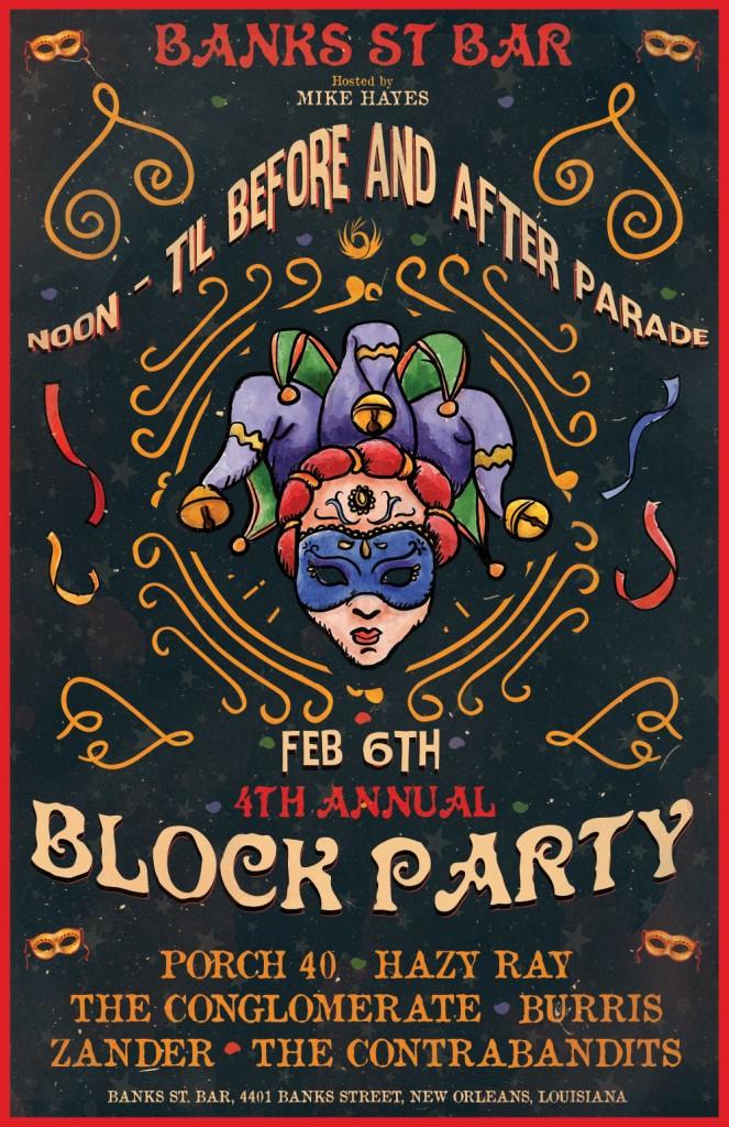 Banks Street Bar Block Party