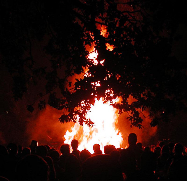 """Issue of Mid-City bonfires re-ignited after enforcement """"overkill"""" on New Year's Eve, residents say"""