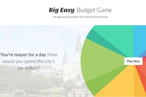 New website lets New Orleanians be 'mayor for a day,' determine the city's budget
