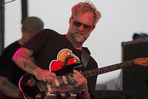 Anders Osborne solos on his guitar at the Orleans Avenue stage at Bayou Boogaloo 2016. The festival took place on May 20 to 22 on the banks of Bayou St. John. (Zach Brien, MidCityMessenger.com)