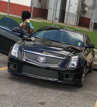 Black 2012 Cadillac CTS, reported missing August 16, 2016 (via NOPD)