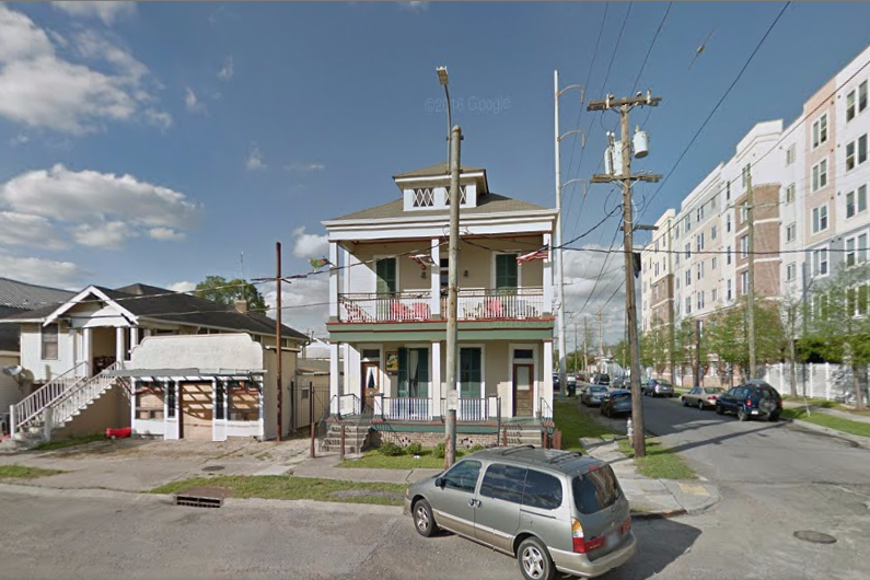 Site 61 hostel at the junction of 3701 Tulane Ave./Ulloa St., and Telemachus St., has been designated a Certified Historic Structure by the U.S. Department of the Interior (Google Maps)
