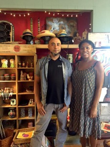 Tamika Jackson and Matthew Rosenbeck of Junk Masters (via StayLocal!)