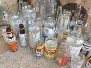 Bottles and jars (photo by Bart Everson).
