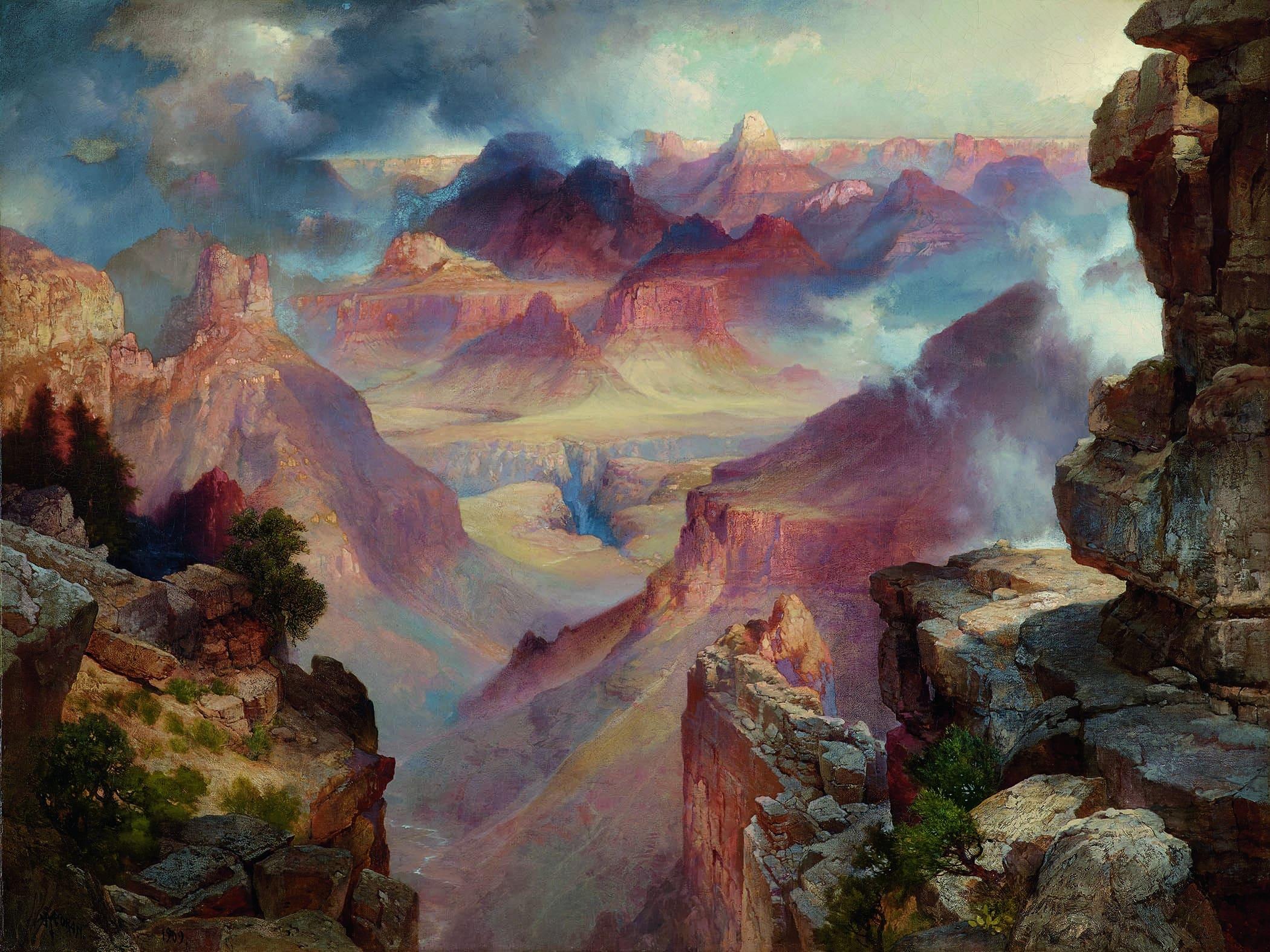 moran, grand canyon