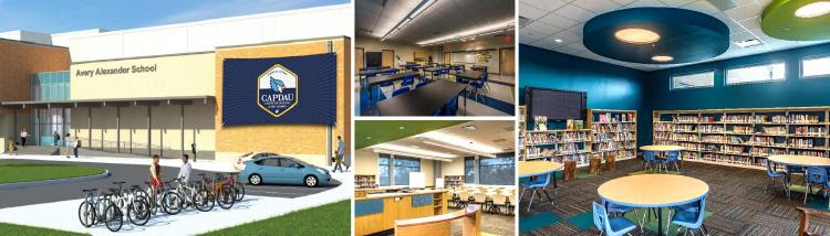 The new Pierre A. Capdau Charter School is scheduled to move to a new state-of-the-art facility located at 5800 Saint Roch Ave (via New Beginnings Schools Foundation)