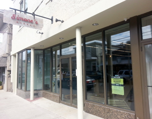 Simone's Market will open to the public for the first time on Friday, Dec. 23. (Robert Morris, UptownMessenger.com)