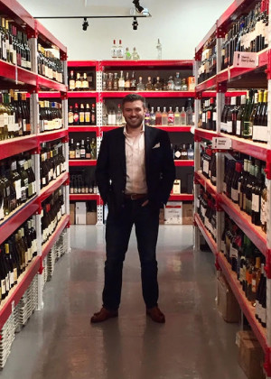 Patrick Brady of Brady's Wine Warehouse