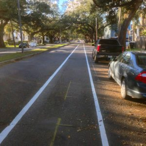 Banks Street Bike Lane