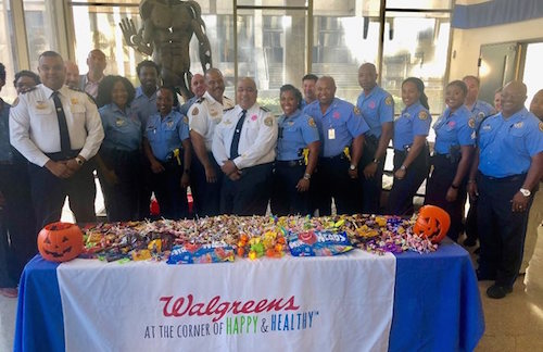 New Orleans Police on Halloween